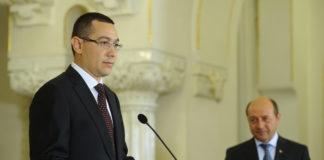 VICTOR PONTA - PREMIER DESEMNAT de Basescu