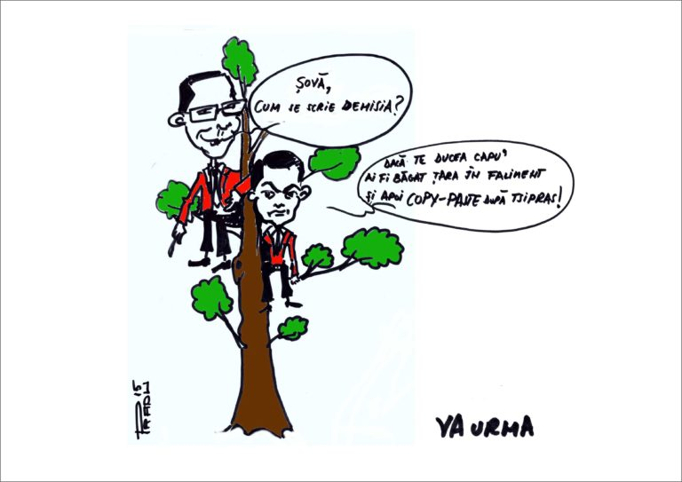 Șova și Ponta, din nou, în pom!