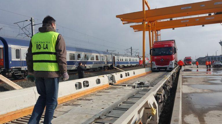 Cu TIR-urile pe calea ferată, o nouă încercare după 16 ani