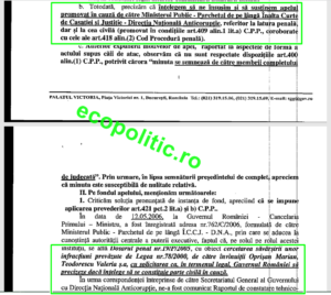 Plangere parte in procesul Oprisan Ponta