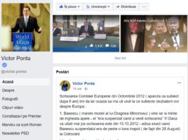 Ponta facebook