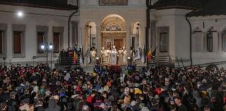 Părintele Patriarh în noaptea de Înviere