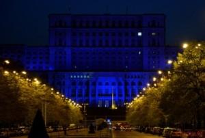 ziua-autismului Palatul parlamentului