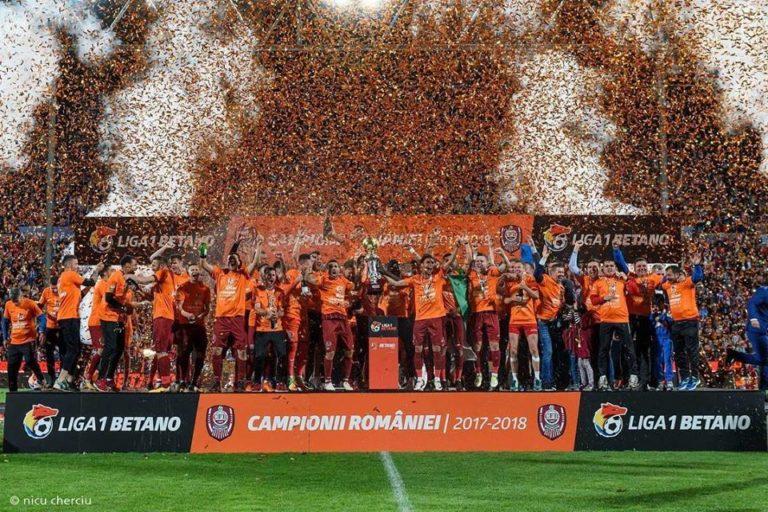 Sărbătoare în Gruia! CFR Cluj, noua campioană a României