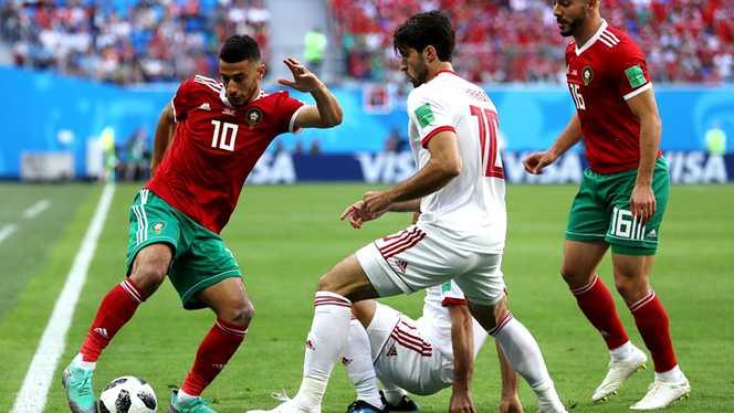 Iranul produce surpriza și câștigă împotriva Marocului