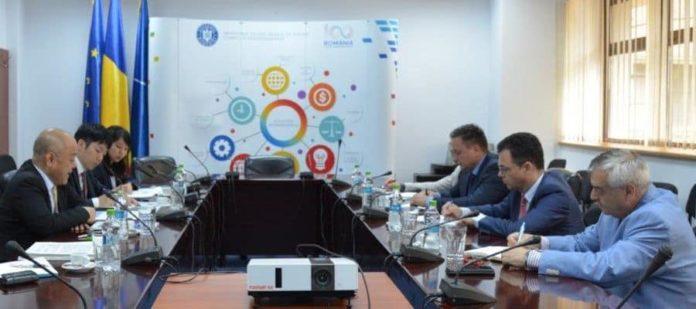 Întrevederea ministrului Oprea cu vice-președintele executiv al JETRO