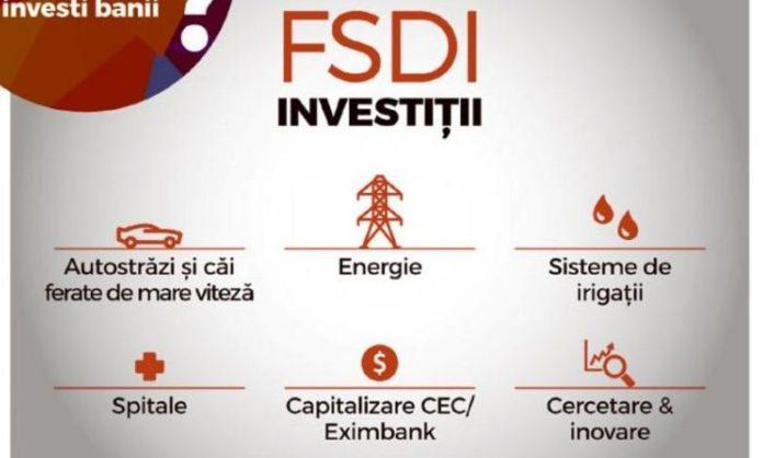 Fondului Suveran de Dezvoltare şi Investiţii