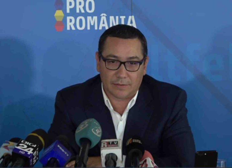 Victor Ponta: Ar fi posibilă revenirea la o stare de urgenţă