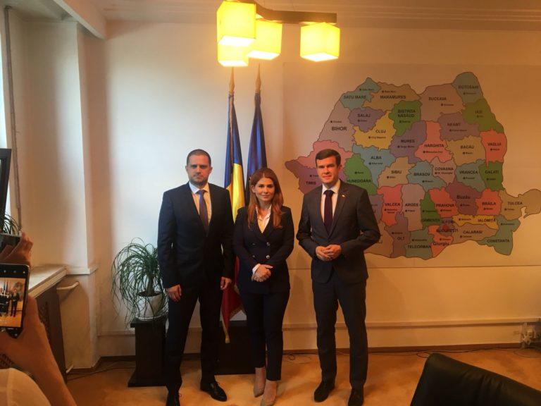 Parteneriat româno-polonez în domeniul sportului și turismului / Miniștrii Tineretului și Sportului împreună cu cel al Turismului s-au întâlnit cu omologul din Polonia, Witold Bańka