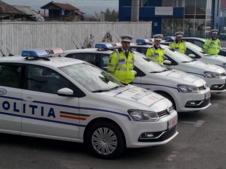 Polițiștii au lăsat peste 150 de șoferi fără permis, în prima zi de Crăciun