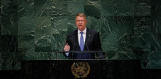 Klaus Iohannis ONU