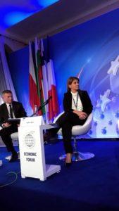 Ministrul Tineretului şi Sporului - Forumul de la Krynica