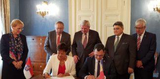 ceremonie semnare declaratie
