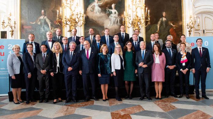 participarea ministrului Ștefan-Radu Oprea la reuniunea informală CAE-Comerț