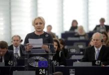 Intervenția premierului Viorica Dăncilă în plenul Parlamentului European