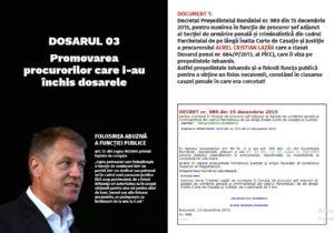 Dosar 3 Iohannis
