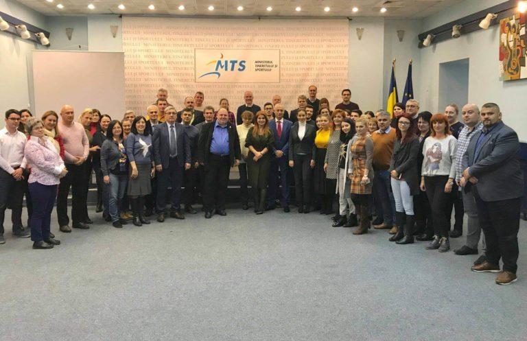 Ministrul Ioana Bran la încheierea mandatului de la MTS: Am fost în mijlocul a două lumi interesante – am avut un contact strâns cu tineretul din România; Am fost cucerită și de lumea sportului