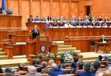 Iohannis Parlament discurs