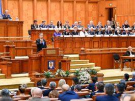 Iohannis Parlament discurs