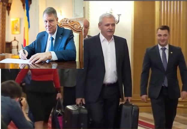 Iohannis atac liviu-dragnea-cu-valizele