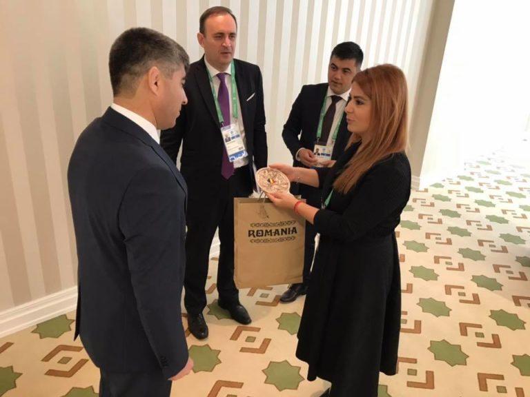 Întâlniri oficiale ale ministrului Tineretului şi Sportului la Ashgabat
