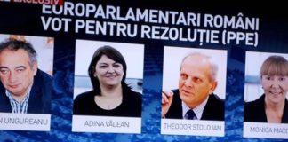vot pentru europarlamentari