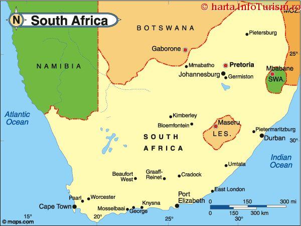 FMI – revizuirea perspectivei de creștere economică a Africii de Sud