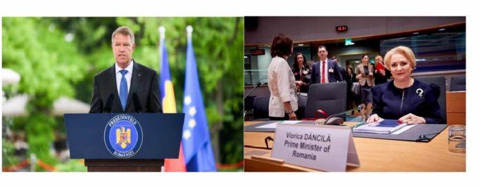 Iohannis Dancila ministru guvern