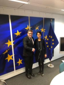Ministrul Muncii Budai s-a întâlnit cu Marianne Thyssen