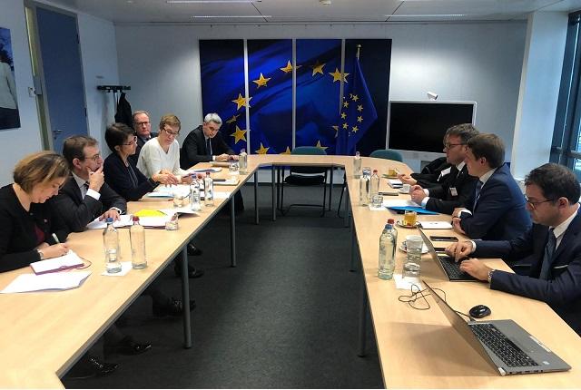 Ministrul Muncii s-a întâlnit cu Marianne Thyssen