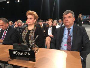 Viceprim-ministrul, ministrul Mediului, Gratiela Leocadia Gavrilescu si Ambsadorul Romaniei in Rep. Polonia, Ovidiu Dranga