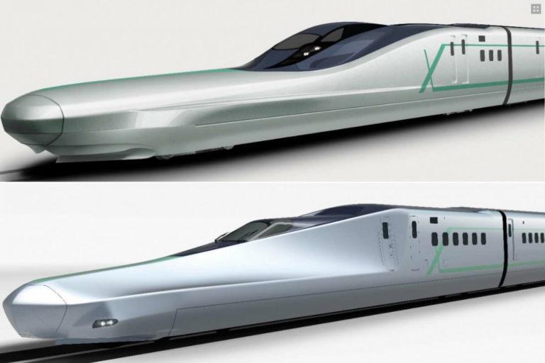 Testarea trenului – Glonț (Shinkansen) pentru călătorii la 360 km/h