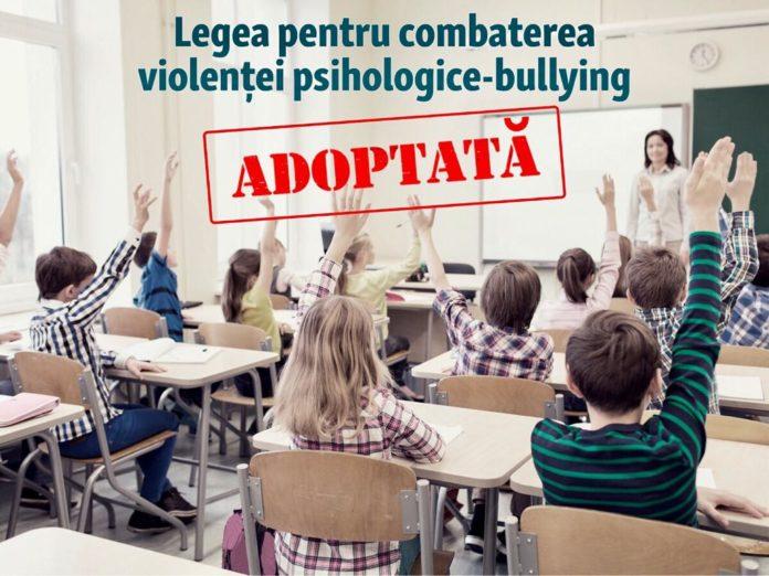 legea combatere psihologice scoli