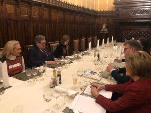 Marius Budăi dineu de lucru cu Enrique Calvet Chambon, raportor al Parlamentului European