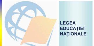 Modificare legea educatiei nationale