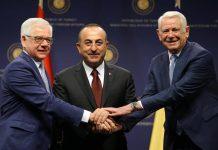 Consultări trilaterale a miniştrilor afacerilor externe din România, Polonia şi Turcia