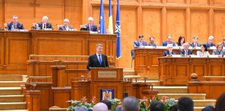 Iohannis parlament_sesiune_solemna