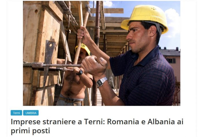 antreprenori romania in terni italia