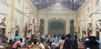 atentat biserica