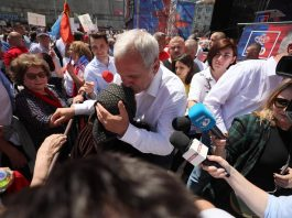 dragnea targoviste miting