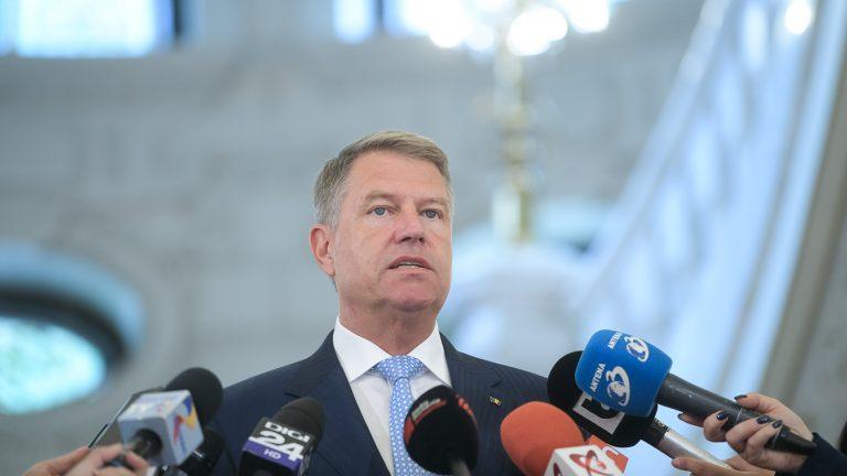 Iohannis: Epidemia de coronavirus ne dă bătăi de cap/Guvernul interimar poate gestiona situații de criză