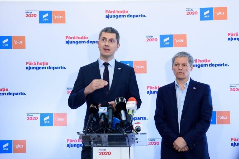 Dan Barna: Dacian Cioloș e propunerea USR PLUS dacă pică Guvernul Cîțu