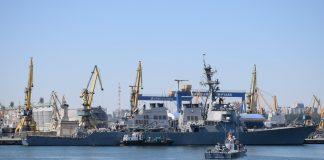 """distrugătorul american USS """"Porter"""""""