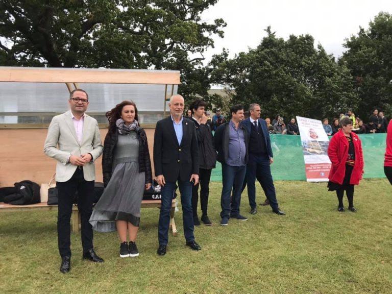 Ministrul Bogdan Matei, la deschiderea unei academii de fotbal – pentru copiii romani din Anglia: Este fabulos cat de mare si de frumoasa este comunitatea de romani de aici