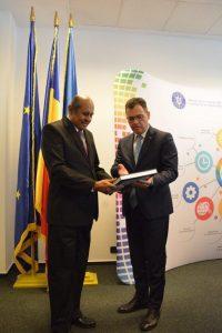 Oprea cu ministrul afacerilor externe din Sri Lanka