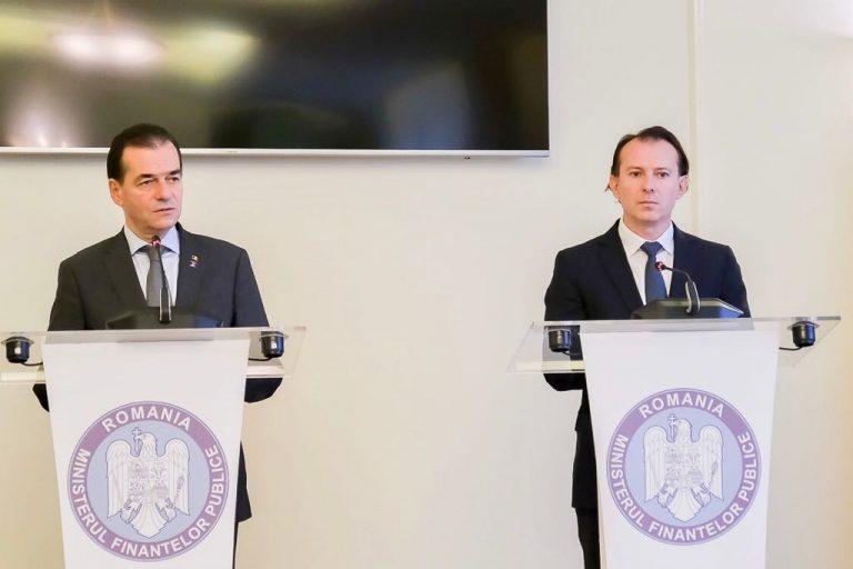 ULTIMA ORĂ / Liderul PNL a prezentat variantele oficiale ale liberalilor: Florin Cîţu, premier – Ludovic Orban, şef la Cameră sau Orban, premier – Cîțu, șef la Senat