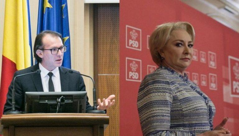 Dăncilă: Cîţu – un radical periculos în Guvernul României