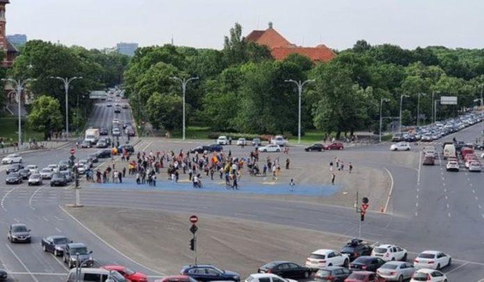 protest-impotriva-guvernului-in-prima-zi-a-starii-de-alerta