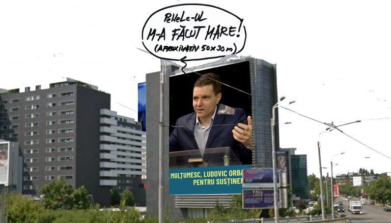 PROBLEMĂ DE MATEMATICĂ pentru Nicușor Dan: Câte măști de protecție se puteau confecționa din panoul electoral?