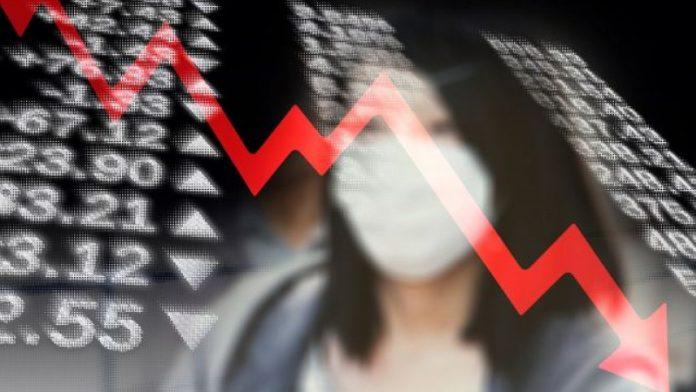 economie grafic negativ